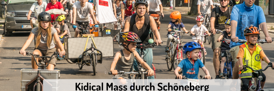 Kidical Mass Aufruf
