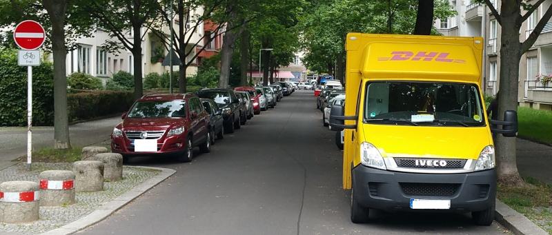 gilt auf parkplätzen rechts vor links